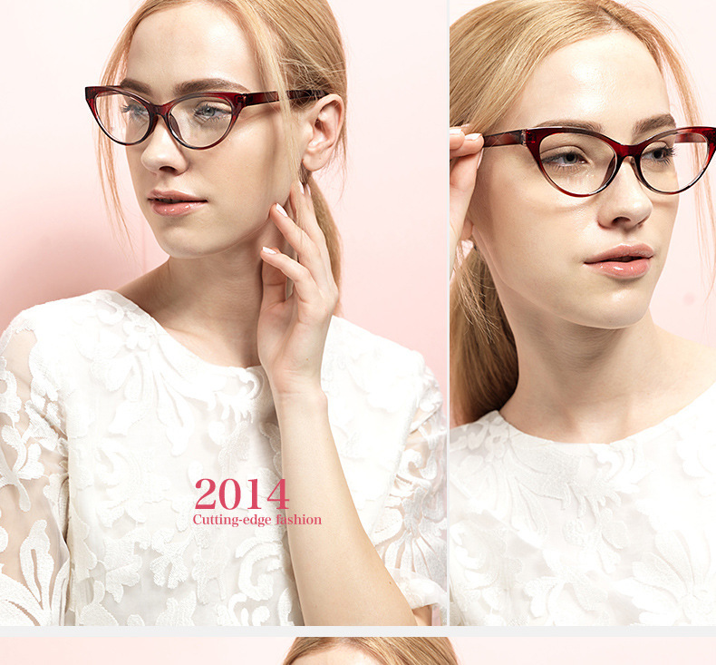 ae0922672460f Top Quality Unbreakable Tr90 Women Clear Eyeglasses Frame Titanium ...