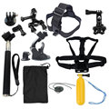Action Camera accessories Set for Gopro Hero SJCAM XIAOMI YI 4K 2 Eken H9R H8R Gitup Git2 Video Sports Action Cam