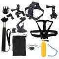 Conjunto de acessórios para gopro hero sjcam action camera xiaomi yi 4 k 2 eken h9r h8r gitup git2 vídeo esportes de ação Cam