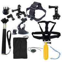 Action Camera Accessories Set For Gopro Hero SJCAM XIAOMI YI 4K 2 Eken H9R H8R Gitup