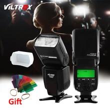 Viltrox JY-680A Lámpara de Luz de Flash Speedlite para Canon Nikon Pentax Olympus Cámaras + Difusor Libre y 20 unids Filtro