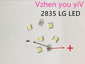 Image 1 - 1000 יחידות LG Innotek LED LED תאורה אחורית 1210 3528 2835 1 w 100LM מגניב לבן LCD תאורה אחורית עבור טלוויזיה טלוויזיה יישום