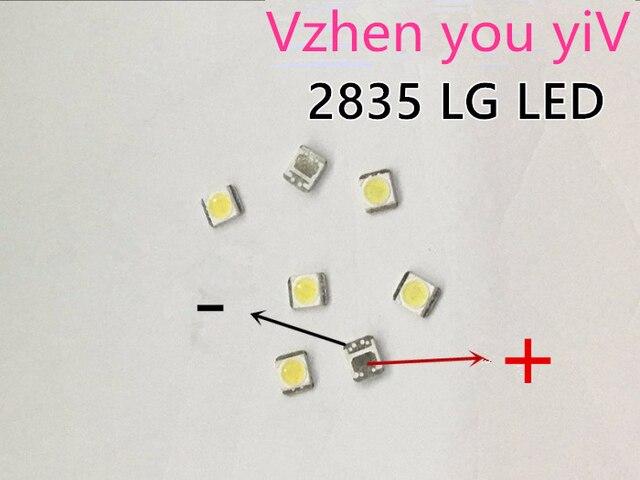 1000 יחידות LG Innotek LED LED תאורה אחורית 1210 3528 2835 1 w 100LM מגניב לבן LCD תאורה אחורית עבור טלוויזיה טלוויזיה יישום