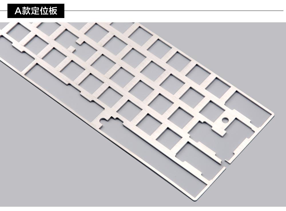 DZ60 Custom mechanical keyboard PCB 60% support arrow key alu plate gateron  switch stab