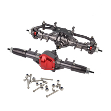 RC 1:10 Rc Car Metal Complete Alloy Front And Rear Axle for 1:10 Rc Crawler AXIAL SCX10 RC4WD D90 Truck