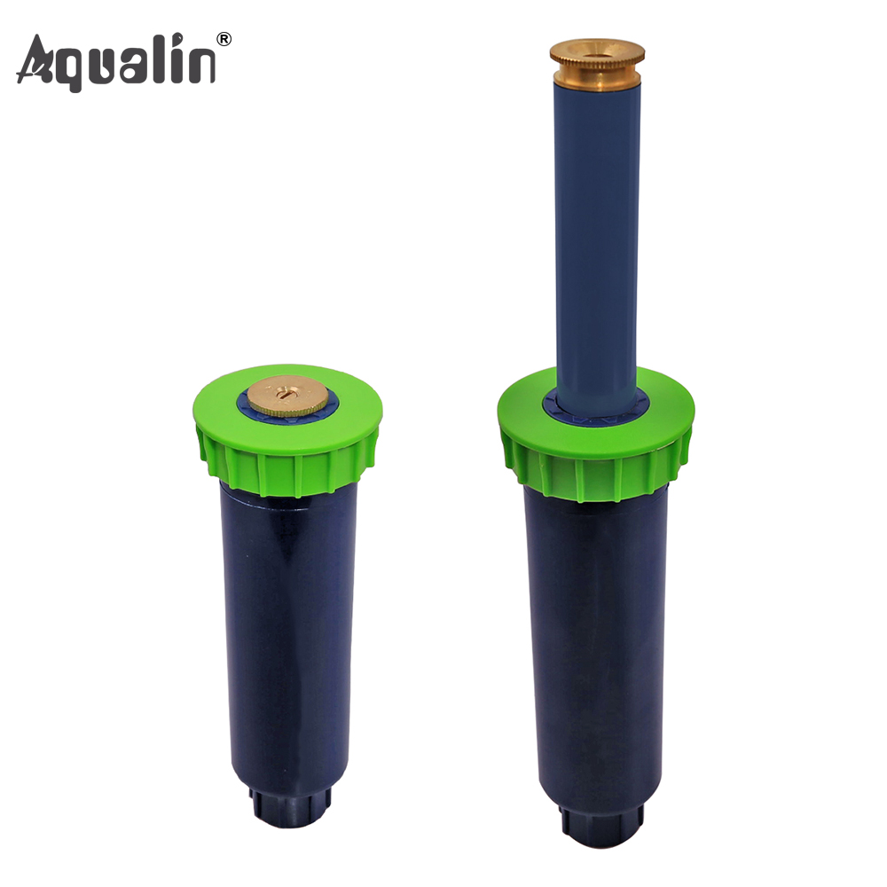 90-360 Degree 4Pcs/lot Garden Lawn Sprinkler  Automatic Retractable Spray Irrigation System Copper Nozzle #GW00106