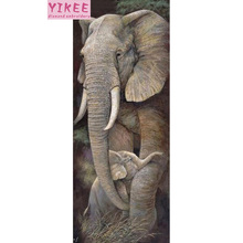 diamond painting full drill,diamond embroidery animal,diamond elephant