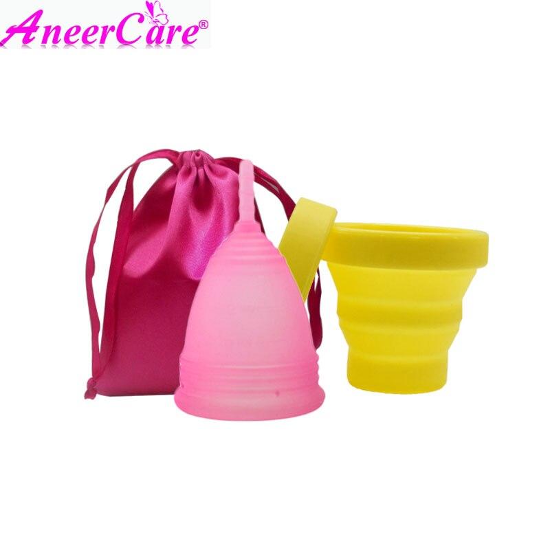 40 sets menstrual cup sterilizer lady period cup copa menstrual de silicona medica coppetta mestruale menstrual