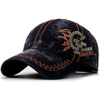 KUYOMENS New Baseball Cap Men Hip Hop Hat Letter Spring Snapback Cap Women Unisex Bone Men