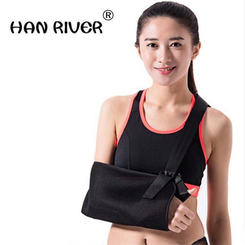 HANRIVER Forearm sling collarbone broken arm sling shoulder fixed arm wrist guards protecting elbow