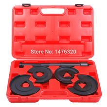 5PCS Telescopic Strut Coil Spring Compressor Installation Removal Tool Kit For Benz AT2011(China)