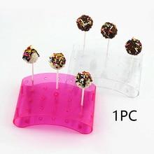 20 Holes Cake Stand Pop Lollipop Stands Display Holder U Shaped DIY Bakeware Kitchen Gadgets
