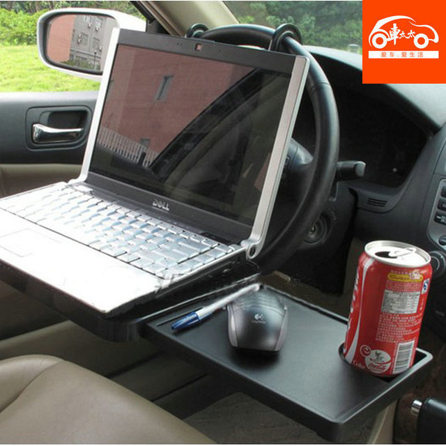 Car Laptop Table Folding Computer Holder Rack Mount Auto Upholstery Decoration Supplies Exhaust