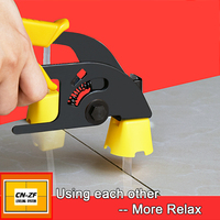 CN ZF Plastic Ceramic Alignment Floor Levelers Spacers Tools Tile Leveling System Kits 1500 Wedges 3000