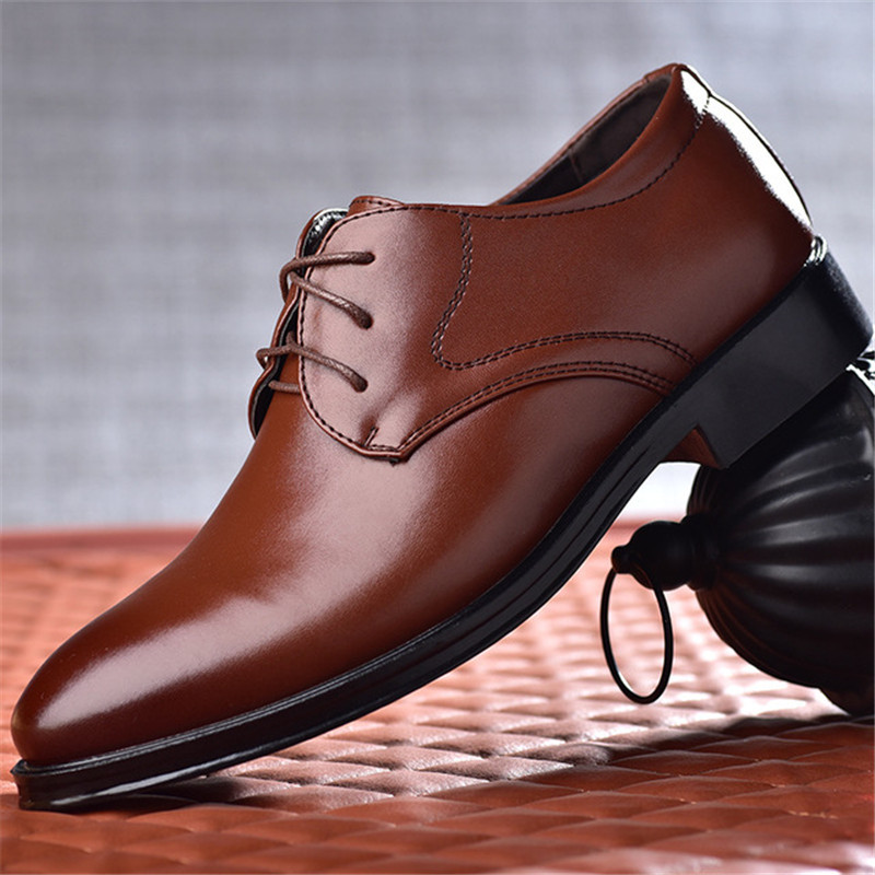 Italian Black Formal Shoes Men Loafers Wedding Dress Shoes Men Patent Leather Oxford Shoes For Men Chaussures Hommes En Cuir New