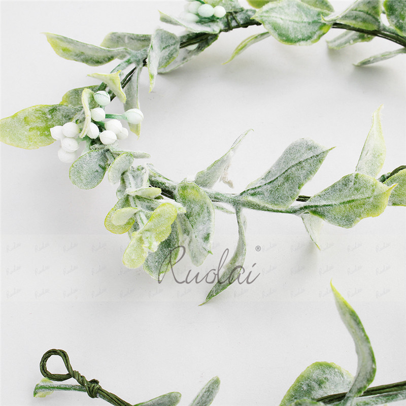 Купить с кэшбэком Bohemia Wedding Headbands Flower Hair Comb Green Leaves Wedding Accessories Bridal Headpieces Hair Decoration HD4