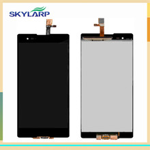 Black LCD screen Module for Sony Xperia T2 Ultra D5303 D5306 D5322 XM50h With Digitizer Touch Screen Replacement (with logo)