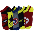 New 5prs/lot marvel Heroes Series Superman Captain America Long Socks Men's and Women's socks