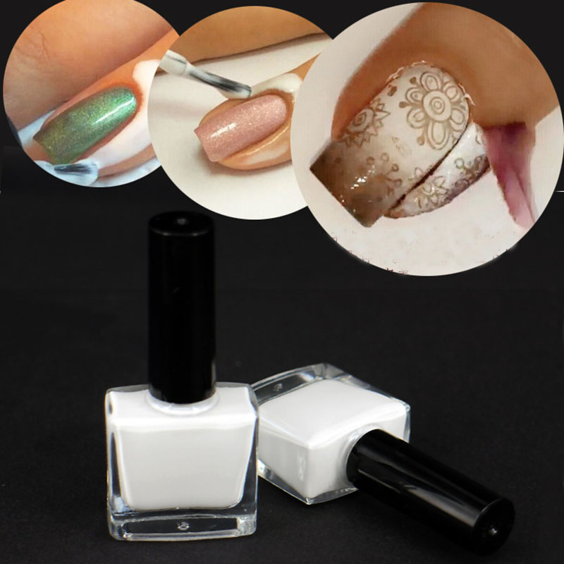 Aliexpress 2pcs Nail Art Cuticle Protective Sticker Easy For Polish Apply 5 Colors From Reliable Suppliers On Symbols