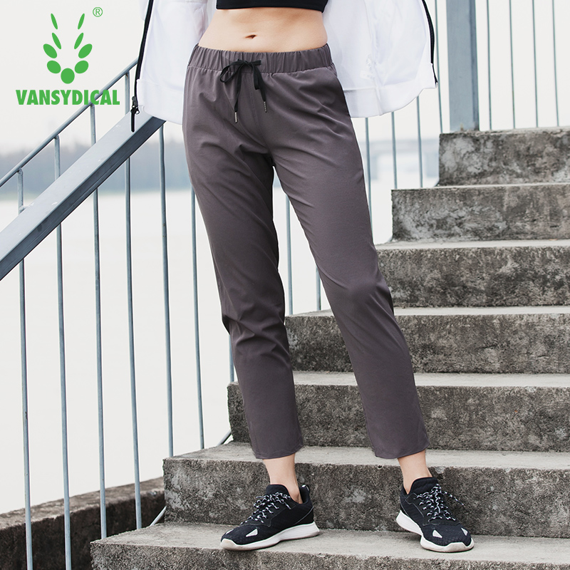 2018 Спортивная одежда для йоги чистый цвет брюки новые кроссовки тренажерный зал женский Фитнес быстросохнущая черные эластичные дышащие с...