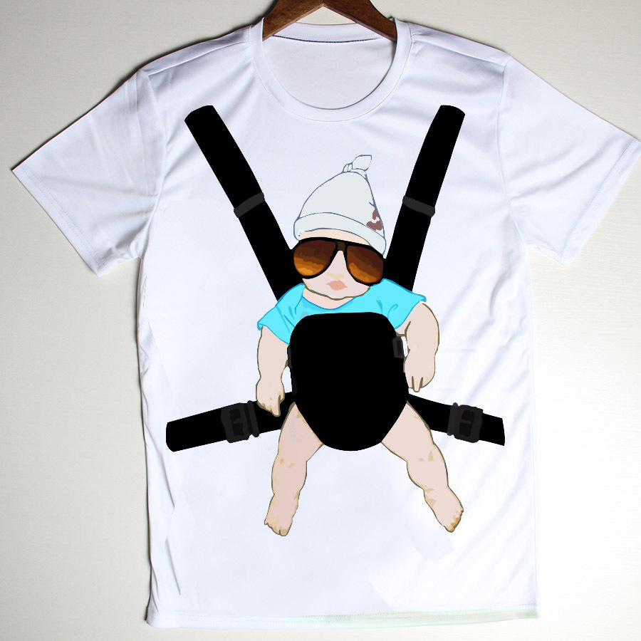 Wholesale the hangover baby funny t shirt men novelty for Printed t shirts in bulk