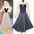Princess Aurora Long Briar Rose Dress Sleeping Beauty Cosplay Costume Halloween Party Cosplay Dress