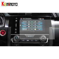 2 piezas de 7 pulgadas de navegación GPS pantalla etiqueta engomada de cristal templado de cine Protector de pantalla para Honda Civic 10th 2016, 2017