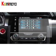 2Pcs 7 inches GPS Navigation Screen Sticker Tempered Glass Screen Protector Film For Honda Civic 10th 2016 2017 цены