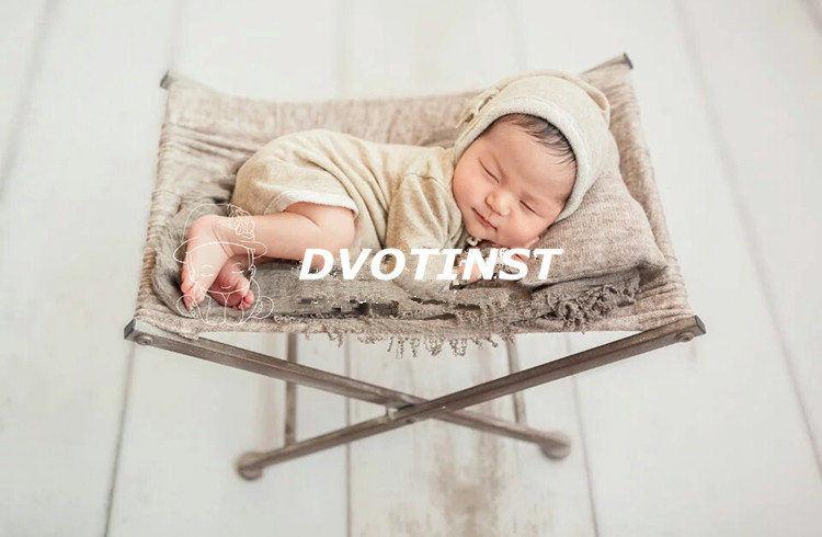Фотография Dvotinst Newborn Baby Photography Props Posing Mini Bed+Pillow Fotografia Accessories Infant Studio Shooting Photo Props 2Colors