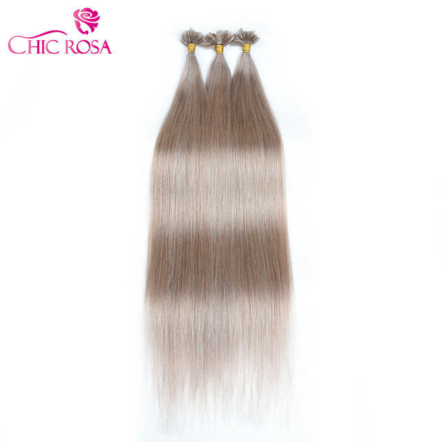 Chic Rosa 18 Remy Human Hair Extension 18 Color Silky Straight