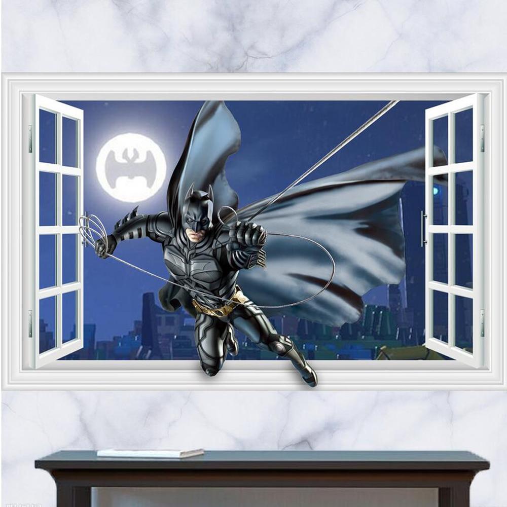 Popular Batman Window Decal Buy Cheap Batman Window Decal Lots   Batman  Bedroom Wallpaper. Batman Bedroom Wallpaper   dact us