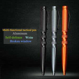 Image 3 - Bolígrafo táctico de autodefensa equipo de supervivencia de emergencia, repuesto de aluminio, armas multifunción al aire libre, acero de tungsteno