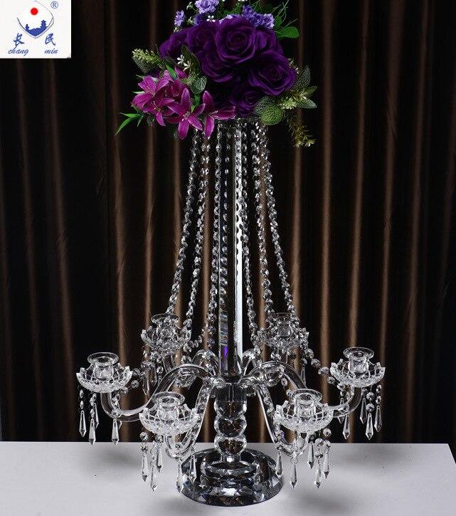 6 Arms Роскошный подсвечники, свадебные украшения, гостиницы макет украшения, домашний интерьер предпочтительным, владелец порекомендую