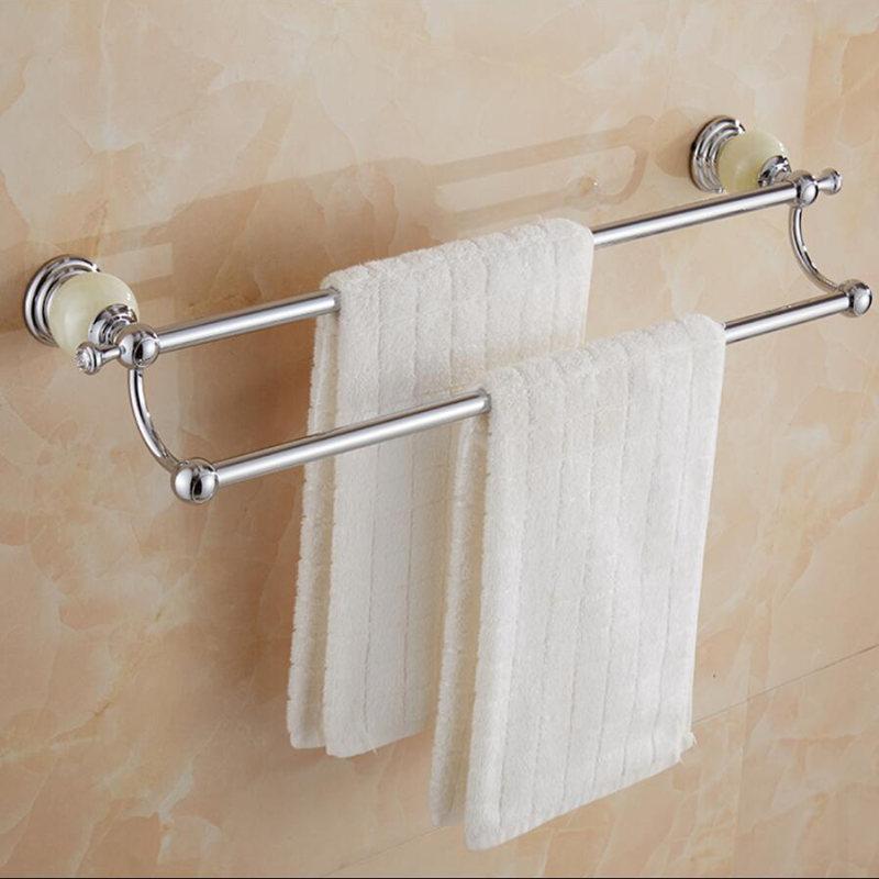 Brass And Jade Chrome Bathroom Accessories Set,Paper Holder,Towel Bar,Toilet Brush Holder,towel Rack,hooks Bathroom Hardware Set