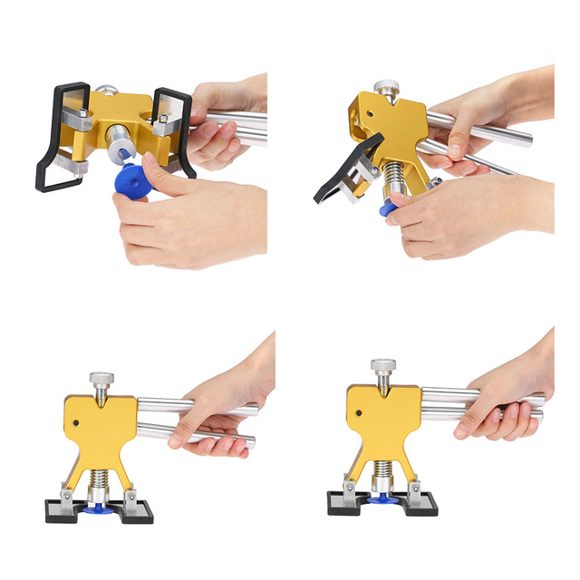 Car Body Paintless Dent Lifter Repair Tool Puller +18 Tabs Hail Removal Tool for bmw e46 e90 ford focus 2 volkswagen mazda jetta