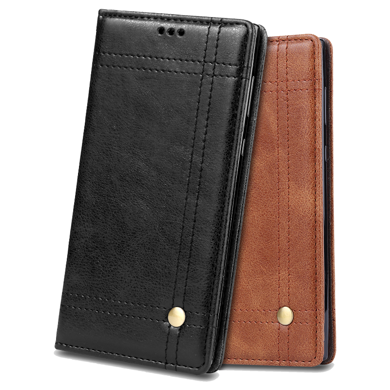 Luxury Vintage Leather Wallet <font><b>Case</b></font> for Sony <font><b>Xperia</b></font> <font><b>L1</b></font> Plus Retro Flip Stand Card Holder Slot Cover for Sony <font><b>Xperia</b></font> <font><b>L1</b></font> <font><b>Phone</b></font> <font><b>Case</b></font>