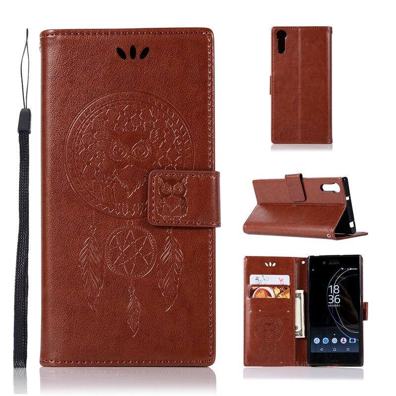 For Cover Sony Xperia XZ Case Dreamcatcher Leather Flip Case for Xperia XZ Sony Wallet Cover For Sony Xperia XZs Phone Case