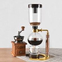 Coffee-Machine Brewer-Set Glass 3-Cups Lamp Siphon Tca3 Stove-Burner Vacuum-Pot Brewing