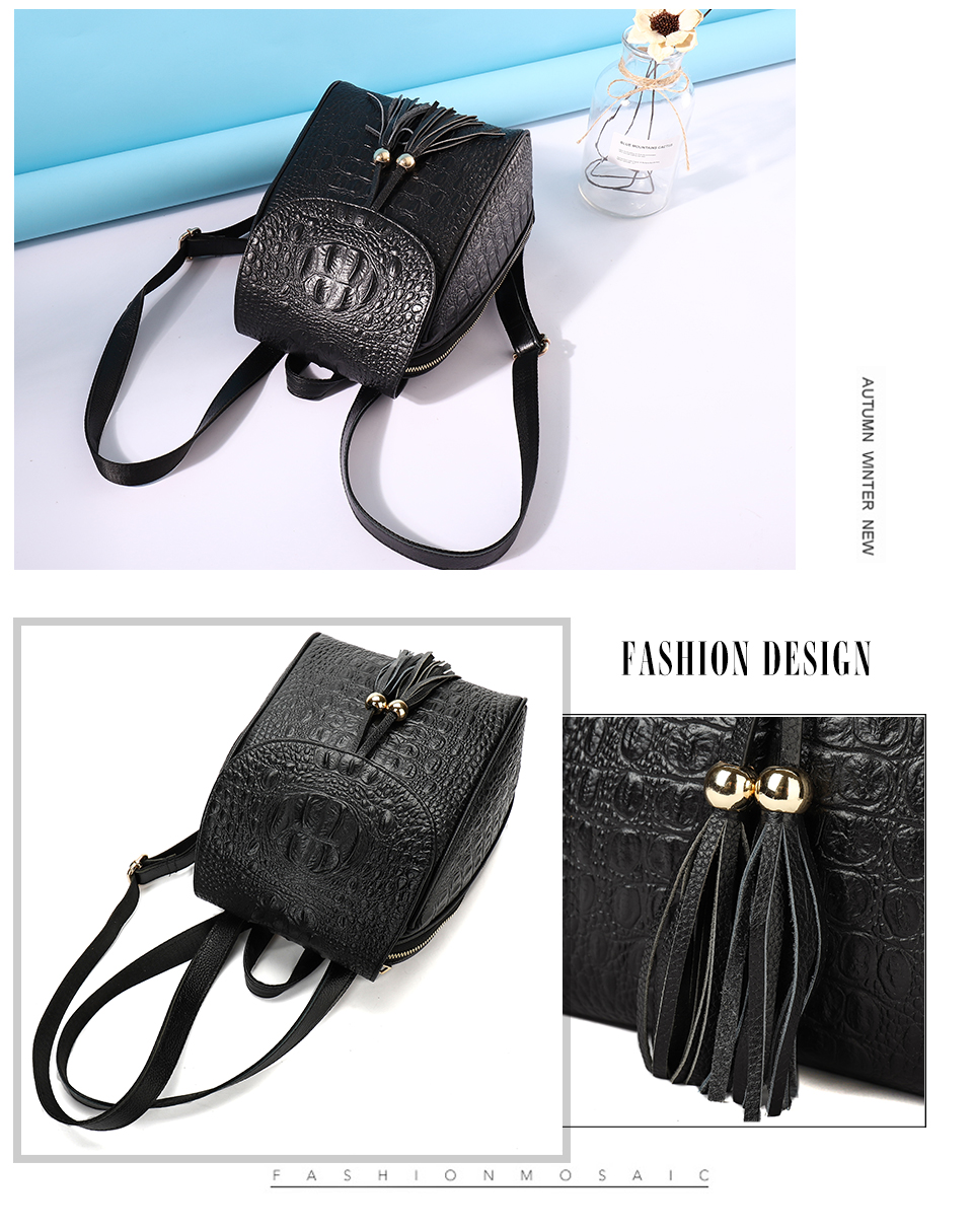0501857f5f11 Fashion Casual odile Texture Women Backpack. High Quality Comfortable  Beautiful Shoulders Bag. Fashion Decoration Design Bag