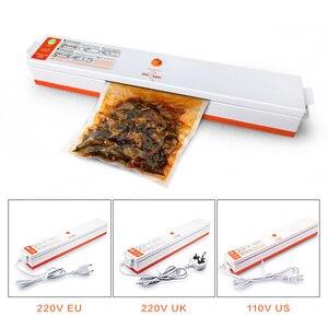 Image 3 - Household Food Vacuum Sealer Packaging Machine Sealing Storage Bags Film Sealer Vacuum Packer Including 15Pcs Vacuum Food Sealer
