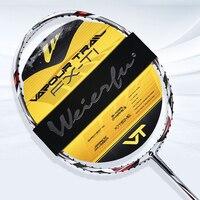 WEIERFU Full Carbon Badminton Racket Beginner Welf Genuine Carbon Fiber Ultra Light Single Men And Women