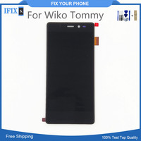 High Quality For Wiko Tommy LCD With Touch Screen Assembly Digiziter Accessories LCD Display For Wiko Tommy With Free Tool