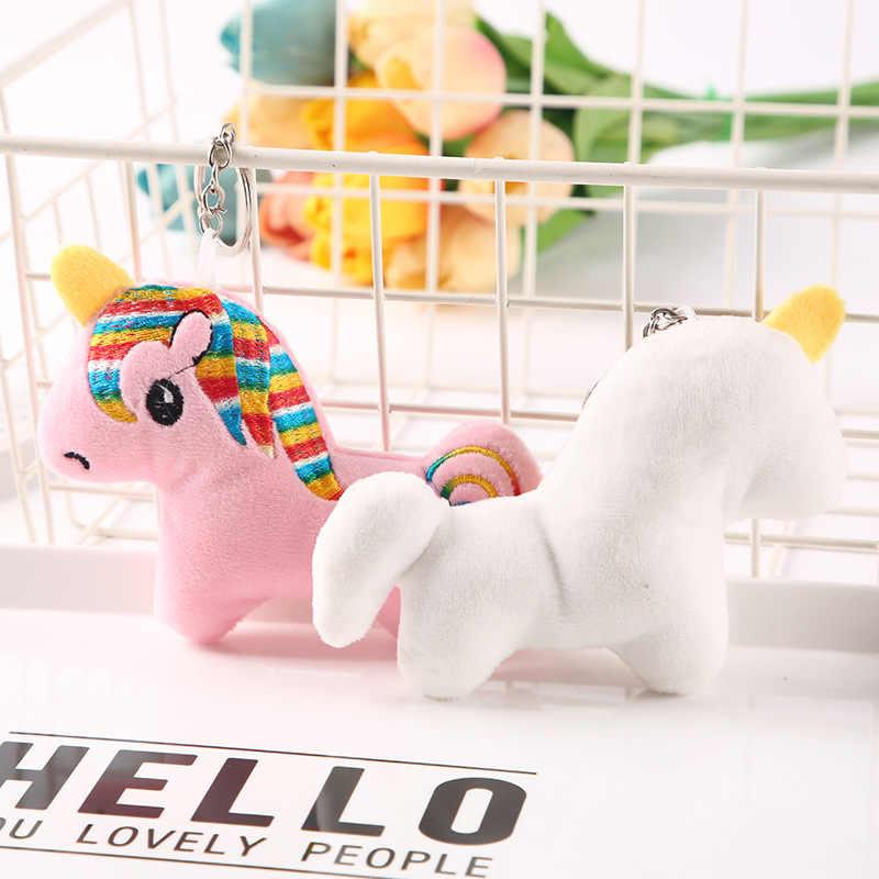 10 CM Unicorn ตุ๊กตาตุ๊กตาตุ๊กตาตุ๊กตาของเล่นตุ๊กตาพวงกุญแจตุ๊กตาสัตว์ของเล่นเด็กของขวัญของเล่นตุ๊กตา