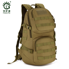 Field Tactical Hiking training Pack Outdoor bag Climbing package 35L Man Big Large Ride Travel Backpack