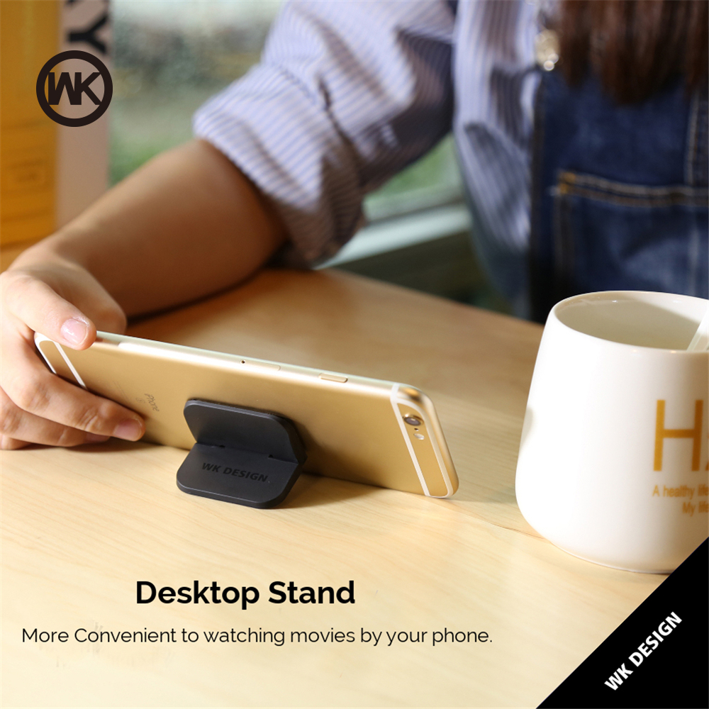 Wk Design 2pcs Set Magic Phone Holder For Iphone X Samsung Ipad Desk Powerbank Mirror 10000 Mah Stand Support Laptop Tablet Cell Desktop In Mobile Holders
