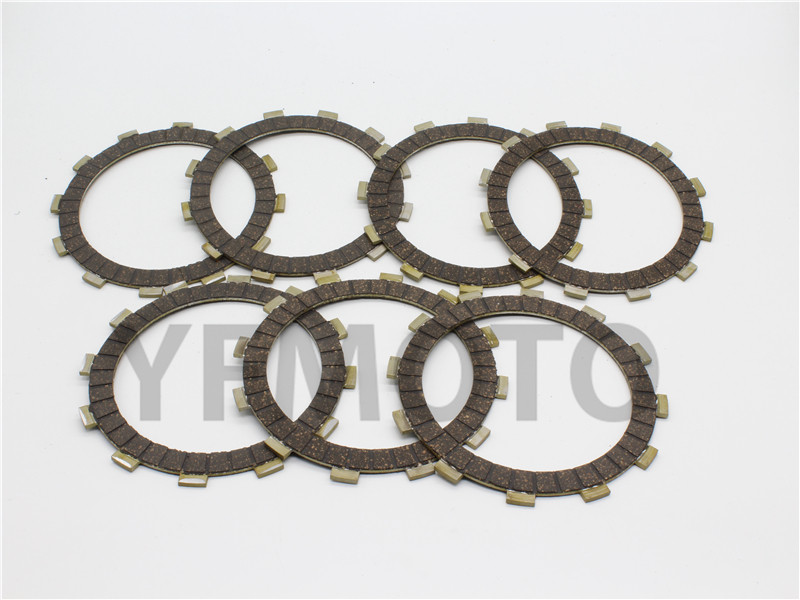 7 Pcs Motorcycle Clutch Friction Plates For Yamaha YZF R1 YZF-R1 1999-2003 00 01 02 YZF1000R  K  Thunderace 1998