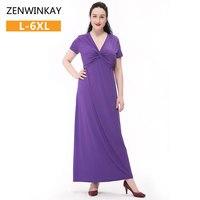 Women Summer Dress 2017 Casual Women S Dress Loose Elegance Long Party Dresses Plus Size Purple