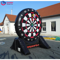 popular inflatable game inflatable foot darts for sale,giant inflatable soccer dart for adults