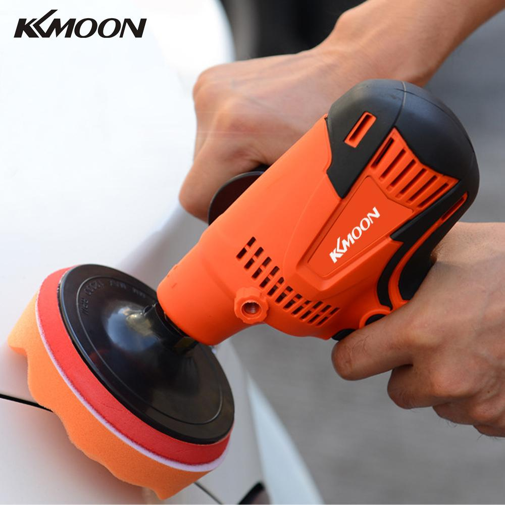 6 Speeds 800W Adjustable Speed Car Electric Polisher Waxing Machine 3500 RPM Automobile Furniture Polishing Tool