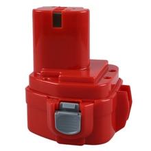 NOUVEAU 2.0AH 12 V Power Tool Batterie pour MAKITA 1220 1222 193981-6 6227D 6313D 6317D 6217 DWDE 6217 DWDLE 6223D Rouge